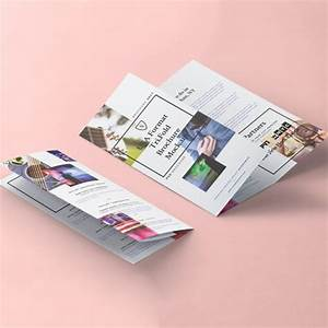 Dépliant 2 Volets : impression d pliant 3 volets 2 plis roul s helloprint ~ Melissatoandfro.com Idées de Décoration