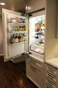 panel ready ge monogram  refrigerator   kitchen  pinterest monograms