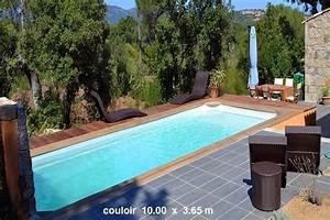 Couloir De Nage En Kit : piscine couloir de nage coque polyester cuba 20 ~ Preciouscoupons.com Idées de Décoration