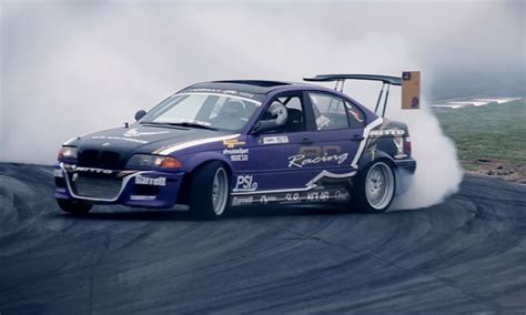 psi built turbo  drift car competes