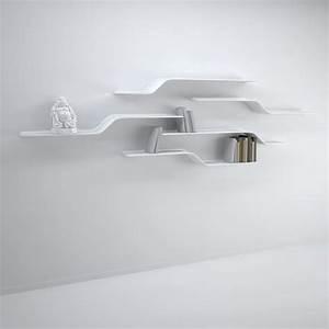 étagère Murale Salon : etagere murale design pour salon 6 id es de d coration int rieure french decor ~ Farleysfitness.com Idées de Décoration