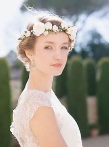 Couronne De Fleurs Mariée : mari e couronne de fleurs ~ Farleysfitness.com Idées de Décoration