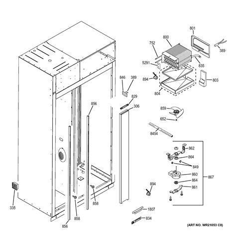 ge zissdhbss side  side refrigerator parts sears partsdirect