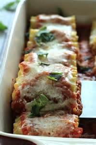 Vegetable Lasagna Rolls Recipe