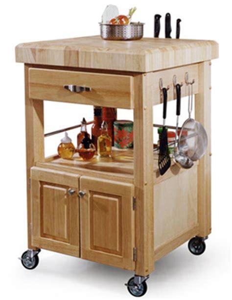 Hardwood Kitchen Island On Wheels  Natural Building Blog