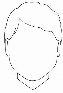 Blank Boy Face Colouring Coloring Pages - Quoteko ...