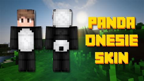 Panda Onesie Minecraft Skin Speed Paint