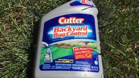 Cutter Backyard Bug Control Review Does Cutter Backyard