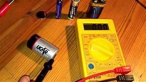Spannung Messen Multimeter : batterie testen mit multimeter knopfbatterie 9 volt block spannung aa und aaa dcv messen ~ A.2002-acura-tl-radio.info Haus und Dekorationen