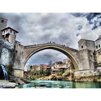Panoramio - Photo of Stari Most na Mostaru Mostar Köprüsü