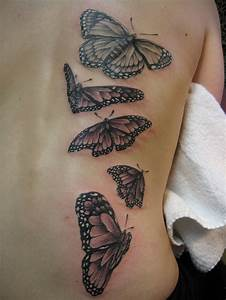 Black and Gray Monarch Butterflies By Russell Fortier at ...