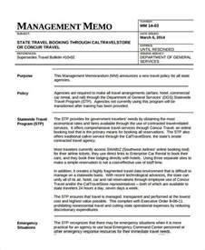 Business Memo Format Examples