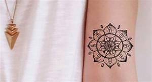 Tatouage Avant Bras Femme Mandala : tatouages mandala 13 id es pour se faire tatouer ~ Melissatoandfro.com Idées de Décoration
