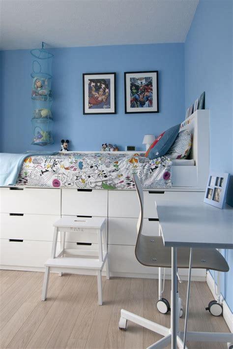Panier Picnic Ikea Ikea Hack Childrens Bedroom Makeover Cabin Bed Midsleeper Bed Using Nordli Che With Opbergmand Ikea