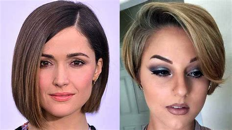 Newest Short Haircuts For 2018 💜 Different Short Haircuts For Women Should I Dye My Blonde Hair Red Before Brown 2 Hairstyles For High Neck Wedding Dress Natural Head Scarf Short Guys Best Straight Back Cute And Easy How To Defrizz Extensions On Dark Without Bleach