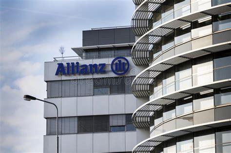 siege social allianz assurance le logo financier et d 39 assurance de groupe d 39 allianz sur
