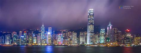 hong kong skyline panorama  history  skyscrapers