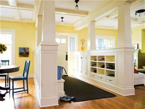 Foyer And Living Room Divider Ideas by 1000 Images About Half Wall Ideas On