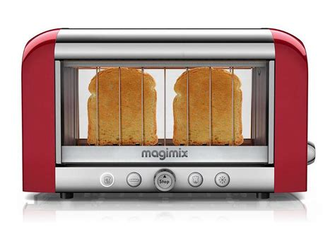 Glass Tray Decor by Magimix Vision Toaster World S First See Through Toaster