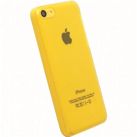 yellow iphone 5c krusell 89911 frostcover for apple iphone 5c