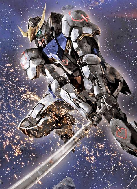 War Commander Wallpaper Gallery Gundam Gundam Iron Blooded Orphans Fan Arts Image