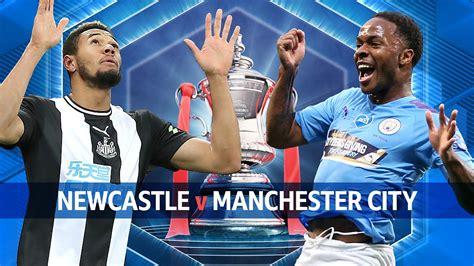 BBC Sport - The FA Cup, 2019/20, Quarter-Final: Newcastle ...