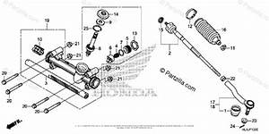 Honda Side By Side 2018 Oem Parts Diagram For Steering