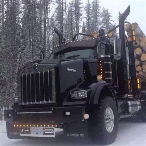kenworth trucks ideas  pinterest semi trucks