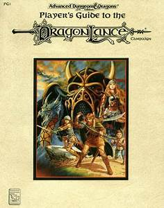 Pg1  Player U0026 39 S Guide To The Dragonlance Campaign