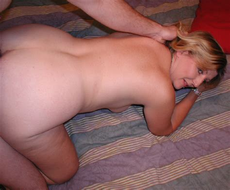 Chubby Blonde Housewife Swallows Dick Golden Bbw Picture 4