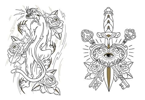 tattoo coloring  tattoo coloring