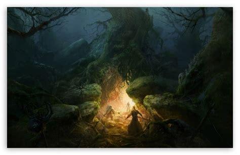 tree cave  hd desktop wallpaper   ultra hd tv