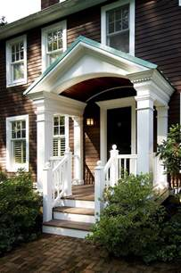 Beautiful Front Portico Plans by 25 Best Ideas About Portico Entry On Side
