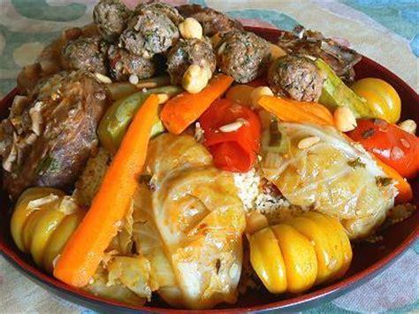cuisine juive tunisienne recette du couscous aux boulettes tunisien harissa com