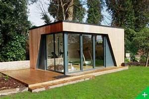 Abris De Jardin Haut De Gamme : studio de jardin bois habitable pool house extension maison ~ Premium-room.com Idées de Décoration