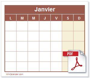 calendrier calendrier gratuit imprimable