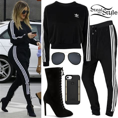 Khloe Kardashian Clothes & Outfits   Steal Her Style