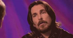 Confused Christian Bale GIF - Find & Share on GIPHY