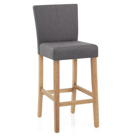 siege de cuisine chaise de bar bois et tissu cornell monde du tabouret