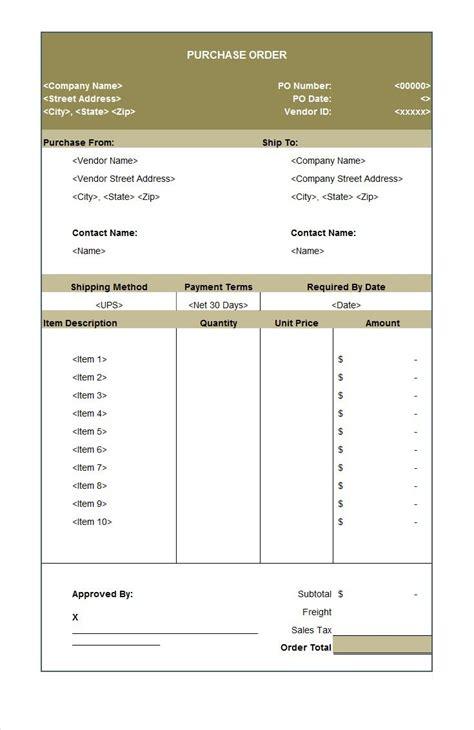 printable purchase order template vastuuonminun