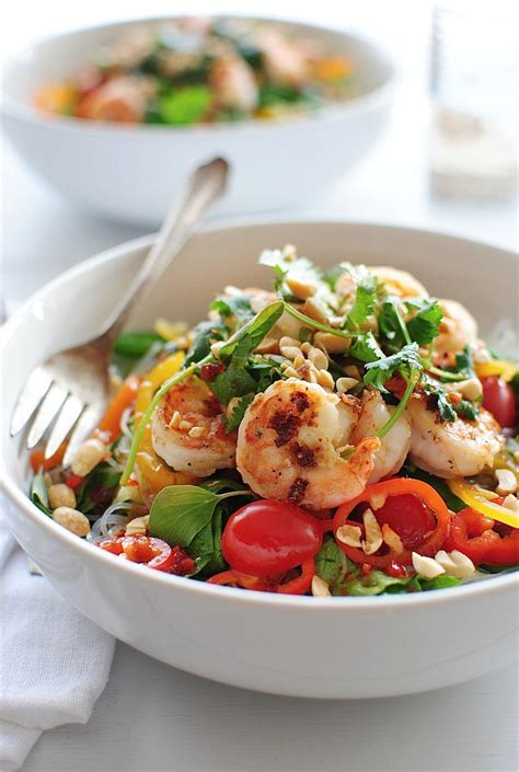 shrimp salad thai shrimp salad bev cooks