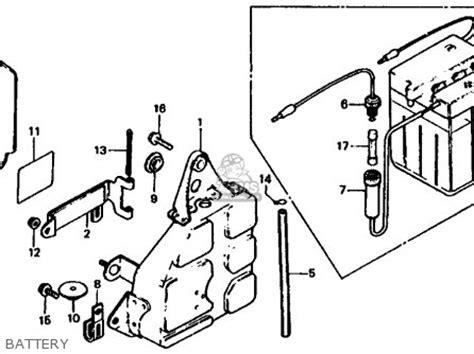 honda xl185s 1980 a usa parts list partsmanual partsfiche