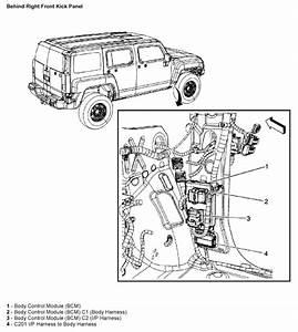 Hummer H3 Interior Fuse Box