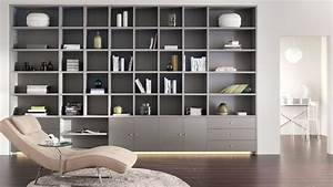 Grande Bibliothèque Murale : biblioth que sur mesure liste des meilleurs fabricants ~ Teatrodelosmanantiales.com Idées de Décoration