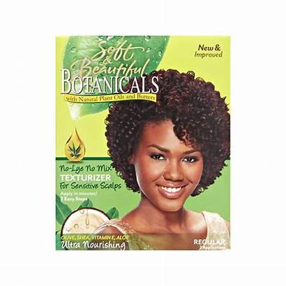 Texturizer Botanicals Regular Hair Soft Kit Lye