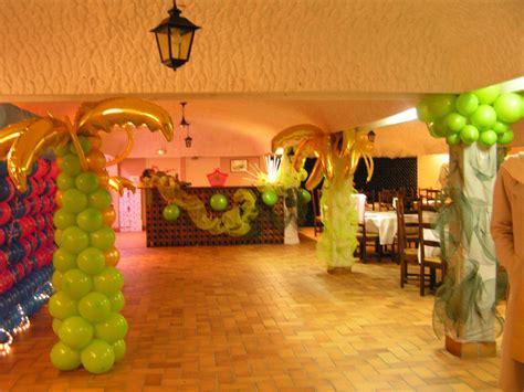decoration salle pour anniversaire d 233 coration en ballons pour anniversaire