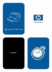 Service Manual  U2013 Hp Laserjet 1200 Series Pdf Hp