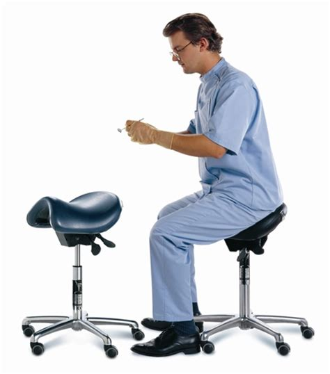 bambach saddle dental stool with backrest from hager
