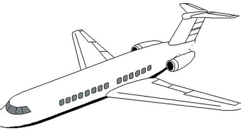 jumbo jet coloring page  getcoloringscom  printable colorings pages  print  color