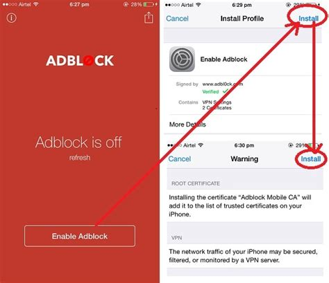 block ads iphone how to block ads in iphone apps and websites
